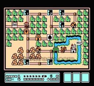 famicom game image スーパーマリオブラザーズ3