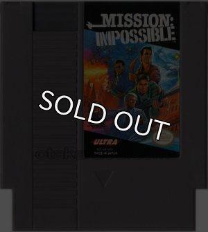 NESソフト 販売 MISSION : IMPOSSIBLE(ミッション:インポッシブル)